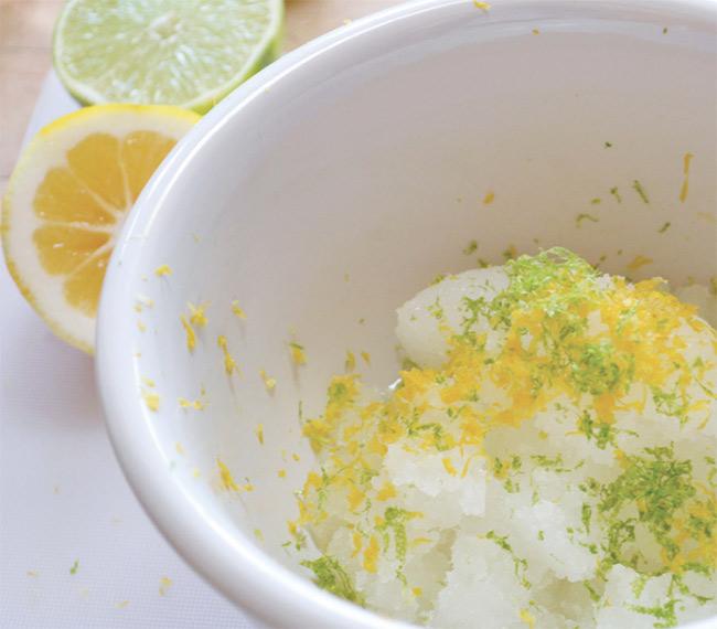 Easy Vitamin C Body  Scrub Recipe