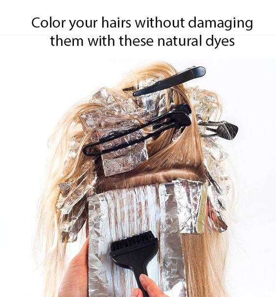 Natural Homemade Hair Color Dye Recipes