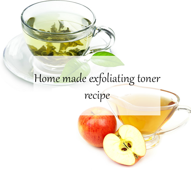 Home made exfoliating toner recipe