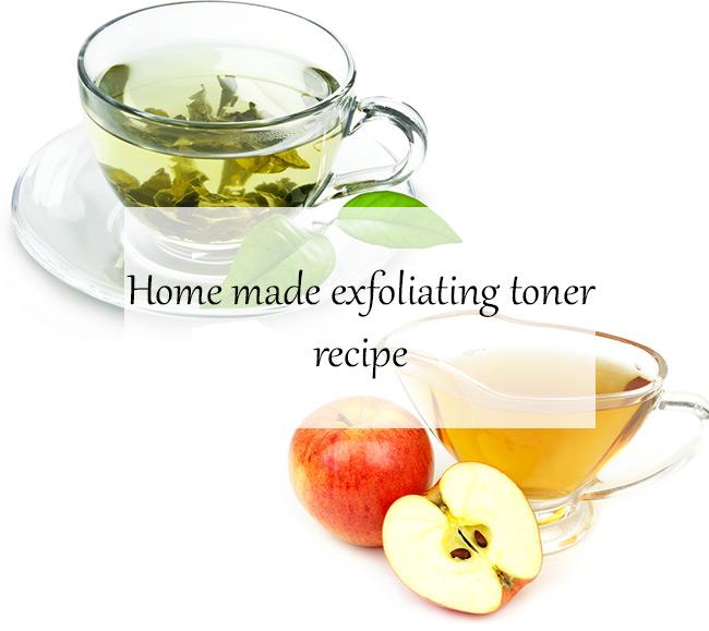 Home made exfoliating toner recipe