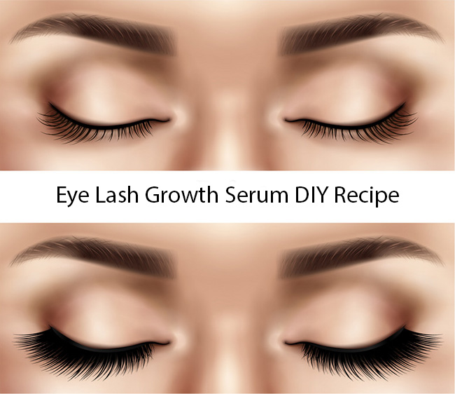 Eye Lash Growth Serum DIY Recipe
