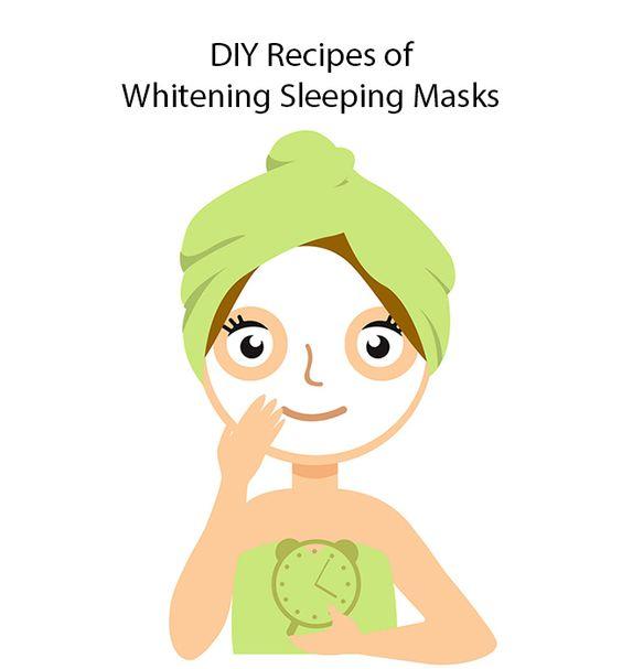 Whitening Sleeping Masks Diy Recipes