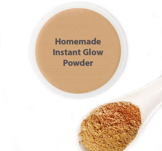 Homemade Instant Glow Powder