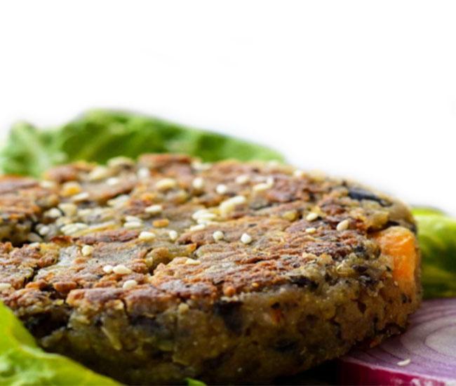 Vegan Black Bean and Quinoa Burgers